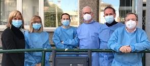 Il sindaco Mirella Cerini dà il via alla cambagna di vaccinazione antinfluenzale