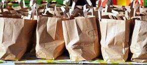 borse di carta per la spesa