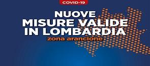 Misure valide in Lombardia in zona arancione