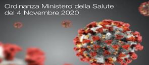 Ordinanza del ministero della salute del 2 novembre 2020