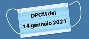 DPCM del 14 Gennaio 2021