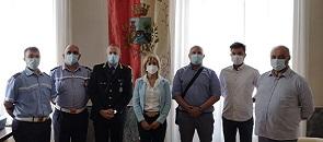 Quattro nuovi agenti nel comando di Polizia Locale