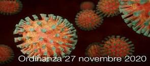 Ordinanza del ministero della salute del 27 novembre 2020