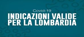 indicazioni contro covid-19 in lombardia