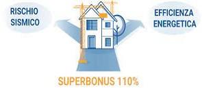 rischio sismico efficienza energetica superbonus 100%