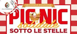 Logo evento seconda edizione Picnic solidale sotto le stelle