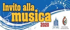 Manifesto promozionale dell'evento Invito alla musica 2020