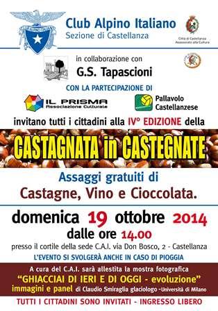 Locandina Castagnata in Castegnate