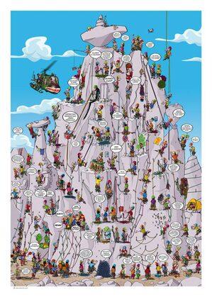 La Torre di Babele dell'arrampicata di Caio Comix